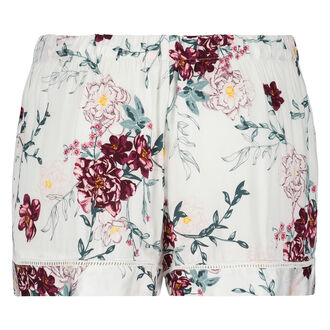 Shorts vævet, hvid