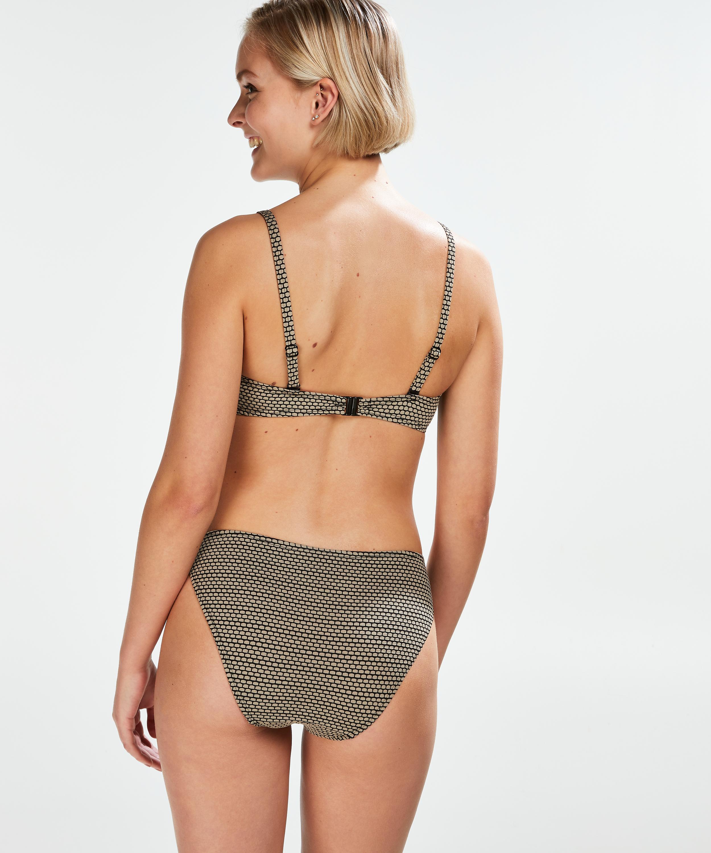 Bandeau-bikinitop Fango, Brown, main