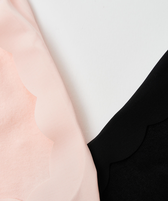 2 par footsies lasercut, pink, main
