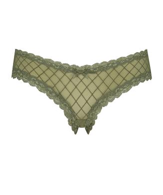 V-shape Mesh brasiliansk trusse, grøn