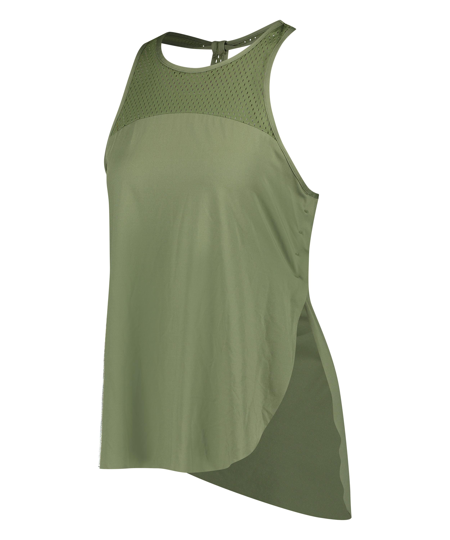 HKMX Tank top loose fit, grøn, main