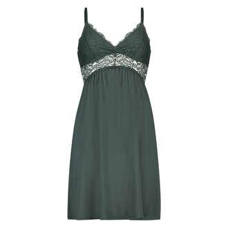 Natkjole Jersey lace Vera, grøn