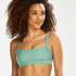 Bikini-croptop Sienna, grøn