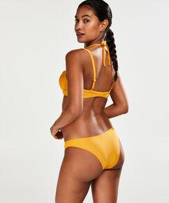Amanda Queen formstøbt bøjle-bikinitop, gul