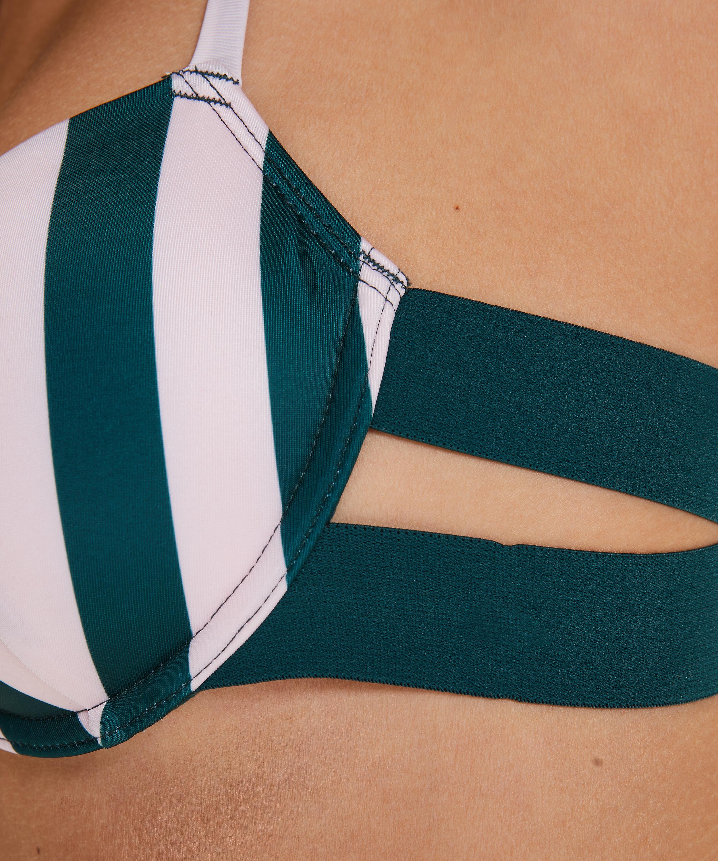 Formstøbt bøjle-bikinitop Santa Rosa, grøn, main