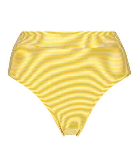 Høj fræk bikinitrusse Carmel, gul