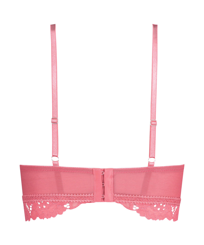 Shiloh formstøbt longline bh uden bøjler, pink, main