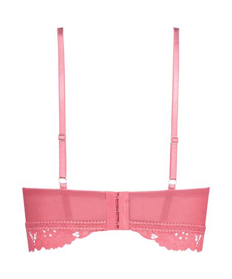Shiloh formstøbt longline bh uden bøjler, pink