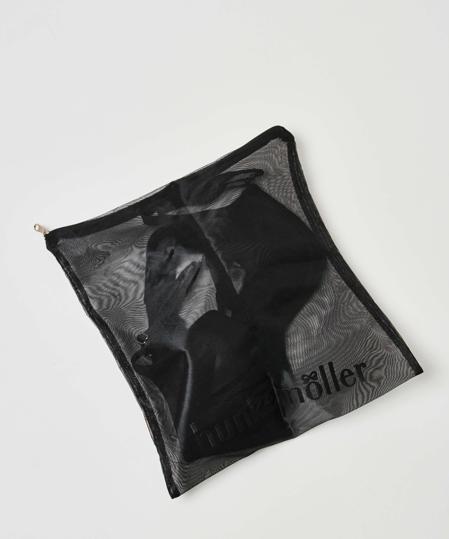 Vaskepose lynlås, sort, main