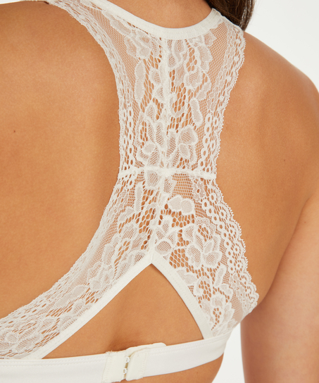 Bralette Alexis, hvid