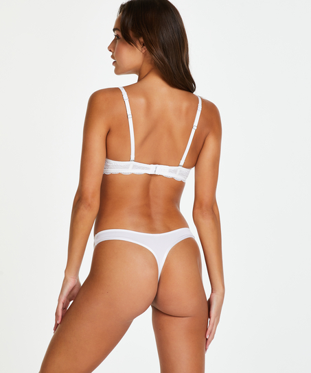 Angie formstøbt bøjle-bh, hvid