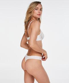 Maya g-streng, hvid