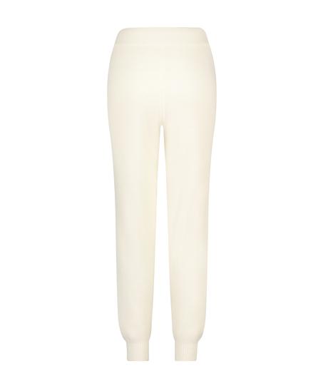 Premium Træningsbukser fluffy, hvid