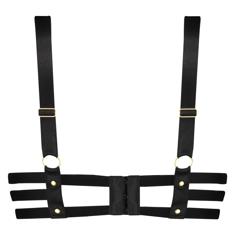 Formstøbt pushup-bøjle-bh Shadow, sort, main