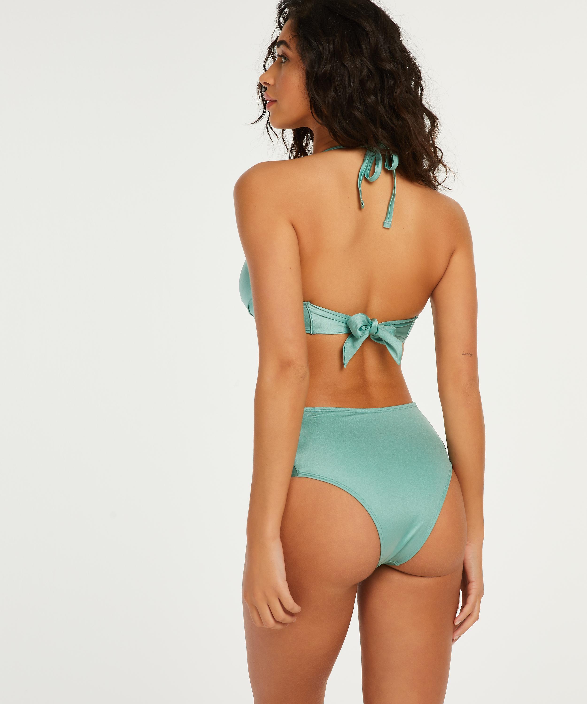 Formstøbt push-up bøjle-bikinitop SoCal, grøn, main