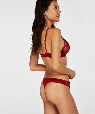 Theresa g-streng, rød