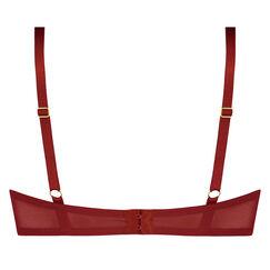 Formstøbt push-up bøjle-bh Aida, rød