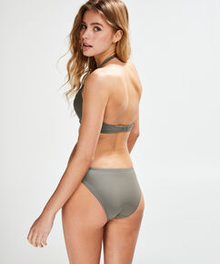 Sunset Dream formstøbt pushup-bikinitop, grøn