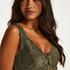 Natkjole Nora Lace, grøn