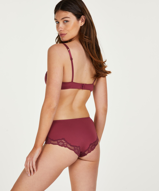Secret Lace shorts, rød, main