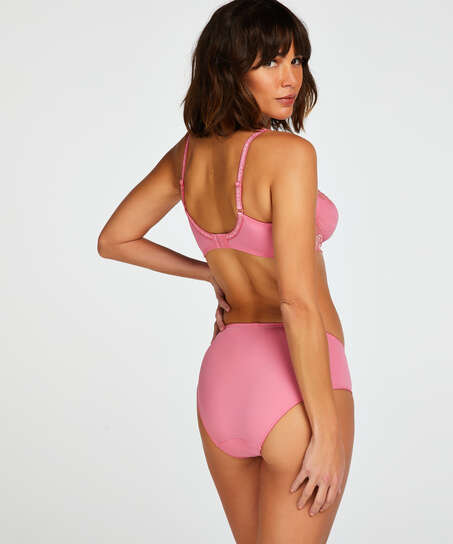 Diva ikke-formstøbt bøjle-bh, pink