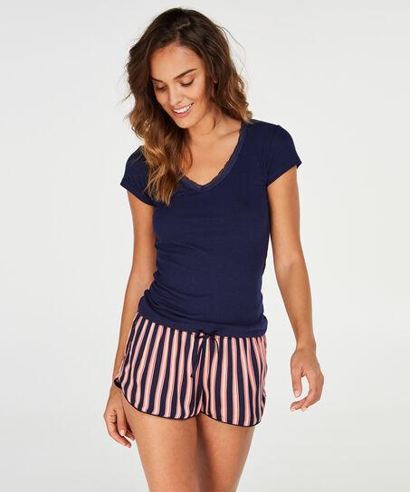 Shorts vævet, pink