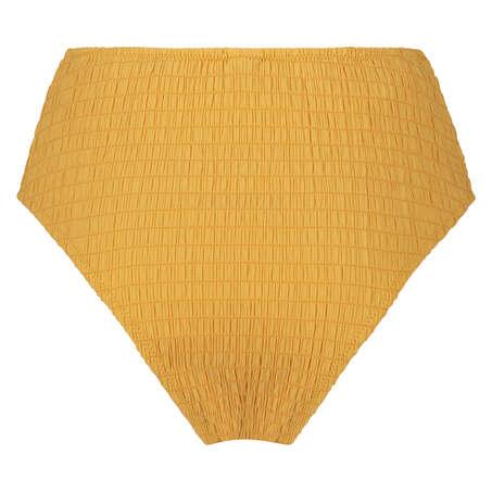 Goldenrod bikiniunderdel med høje ben, gul