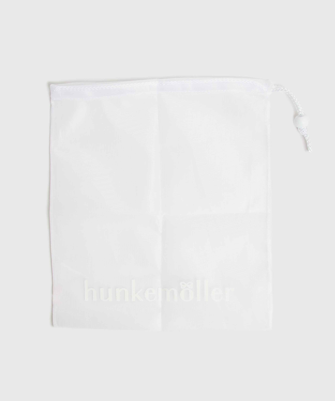 Vaskepose snor, hvid, main