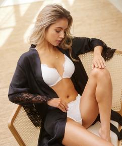 Melissa formstøbt pushup-bøjle-bh, hvid