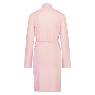 Jacquard jersey badekåbe, pink
