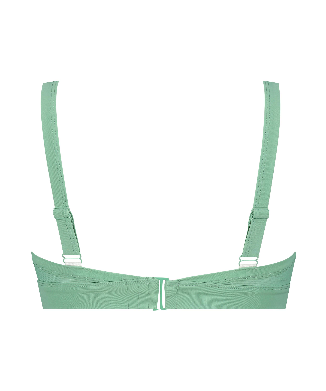 Bikini-croptop Sienna, grøn, main
