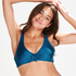 Ikke-forformet bøjle-bikinitop Sunset Dreams, blå