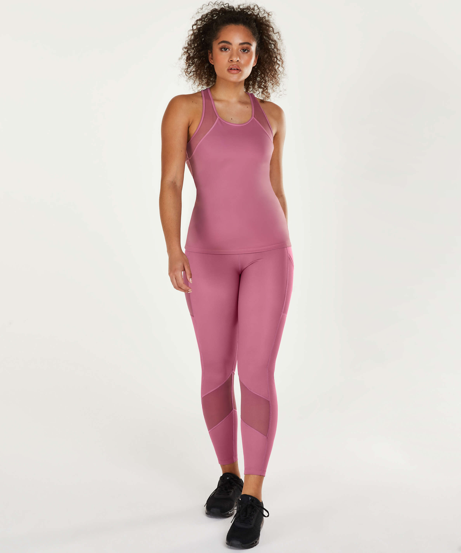 HKMX Oh My Squat-leggings med høj talje, lilla, main