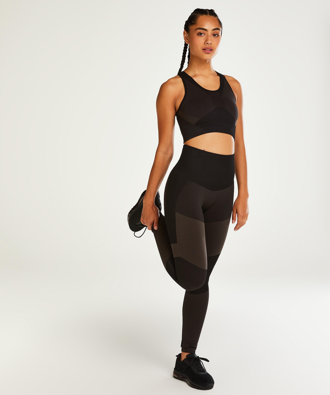 HKMX The Motion-leggings med høj talje , sort, main