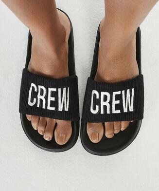 Crew klipklappere, sort