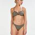 Bandeau-bikinitop Fango, Brown