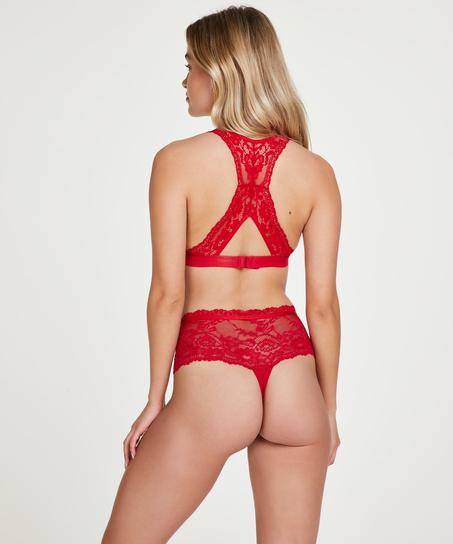 Blondehipster Alda, rød