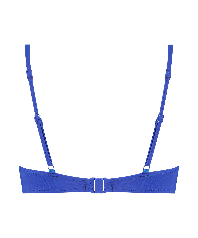 Luxe bikinitop med push-up Størrelse A - E, blå, main
