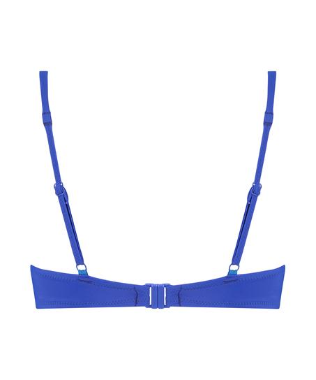 Luxe bikinitop med push-up Størrelse A - E, blå