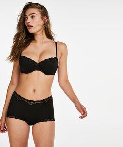 Secret Lace shorts, sort