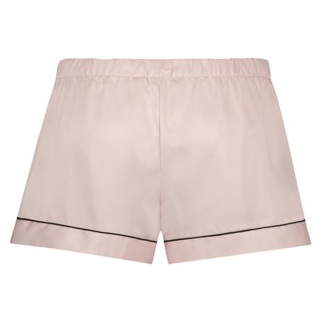 Satin Lace pyjamasshorts, pink