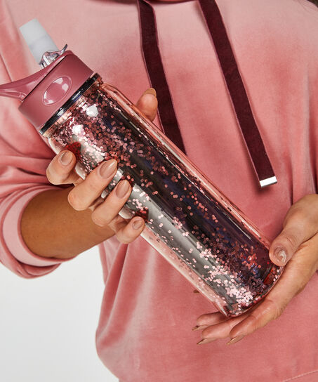 Vandflaske, pink