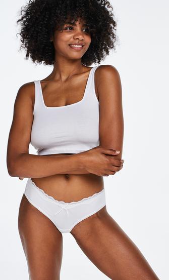 Brazilian micro, hvid