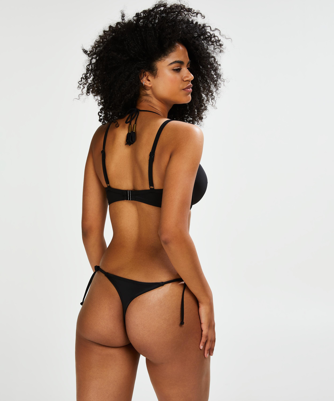 Sunset Dream formstøbt bøjle-bikinitop, sort, main