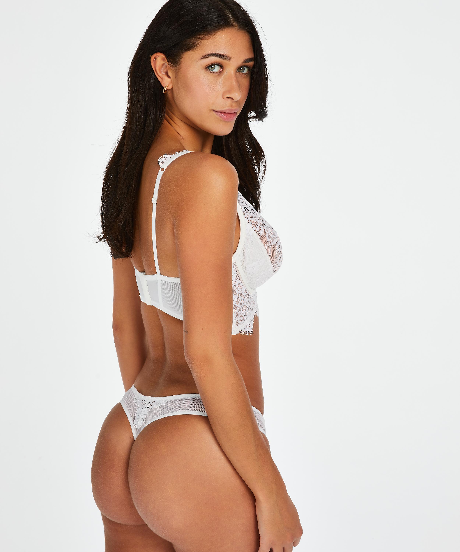 Marilee g-streng, hvid, main