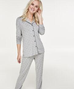 Langt pyjamassæt, Grå