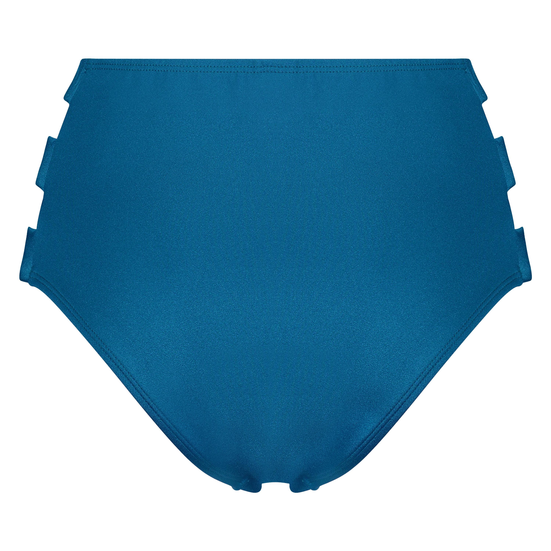 Sunset Dream bikinitrusse med høj talje, blå, main