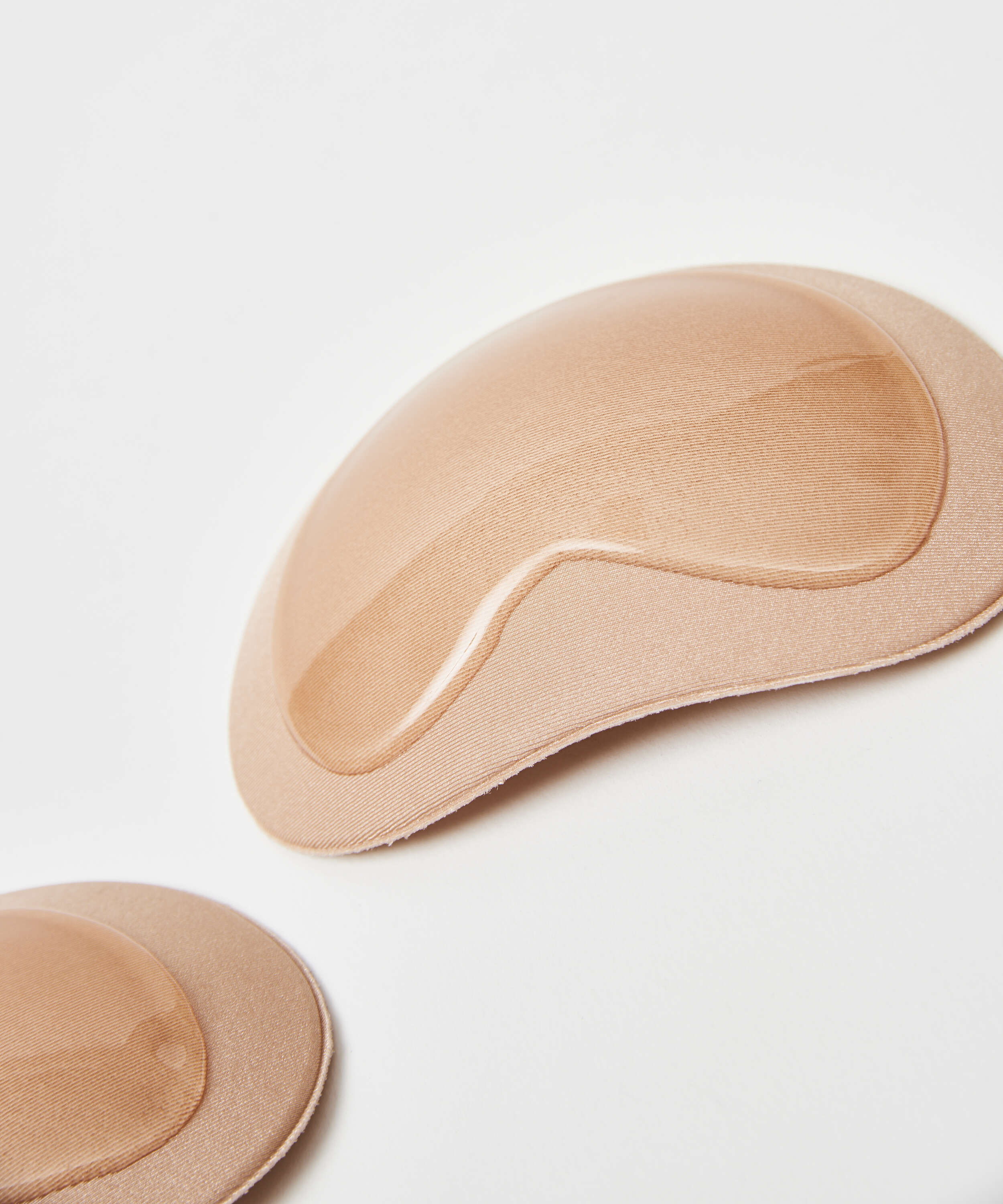 Stick on push up pads, Beige, main