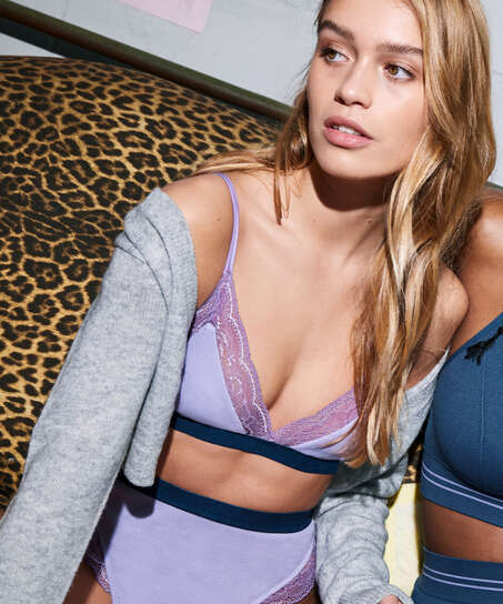Bralette Glo Up, blå