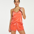 Cami Velour Lace, Orange